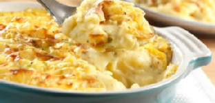 Cheddar and Mashed Potato Gratin