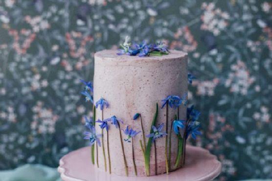 a47f99b64c4 Lemon Berry Stripe Cake for a Royal Wedding