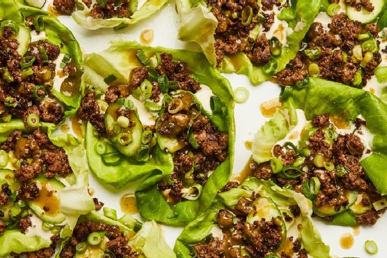 These Spicy Beef Lettuce Cups Are a Hit Any Night of the Week