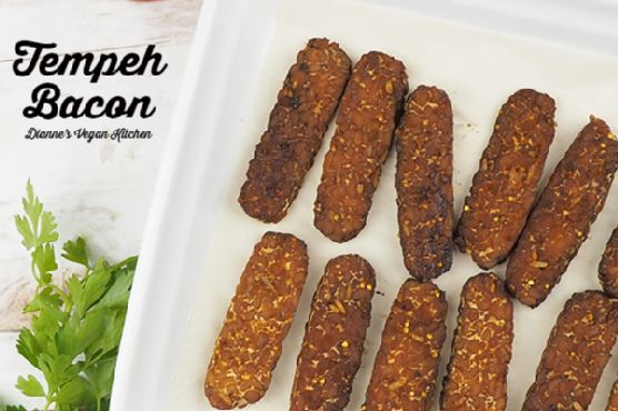 Vegan Tempeh Bacon (for your homemade TTLA sandwiches!)