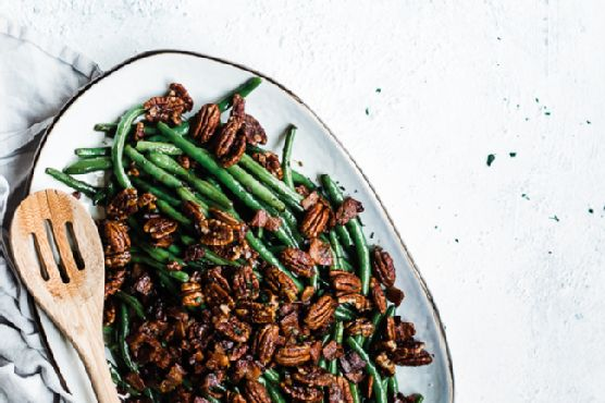 Candied Bacon Green Beans