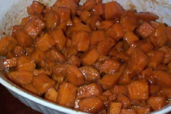Candied Baked Sweet Potatoes (Oven or Grill)