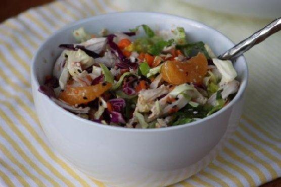 Gluten Free Dairy Free Sugar Free Chinese Chicken Salad