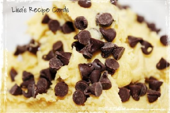Safe To Eat Cookie Dough - Eggless
