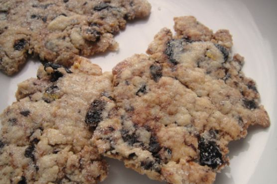 Cook the Book: Sweet Lemon and Black Olive Wafers