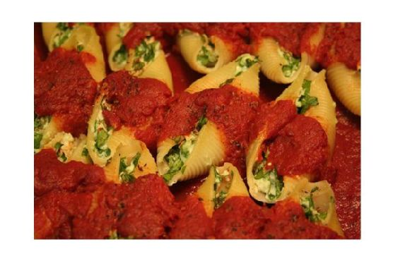 Vegetarian Stuffed Shells