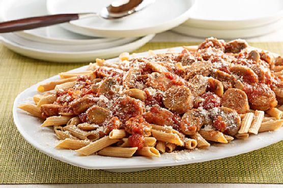 Spicy Penne Pasta Recipe — Dishmaps