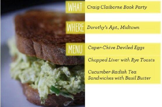 Caper-chive Deviled Egg Sandwiches