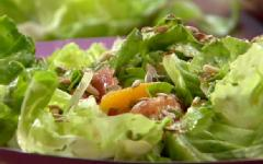 Citrus Salad with Toasted Seeds and Pine Nuts
