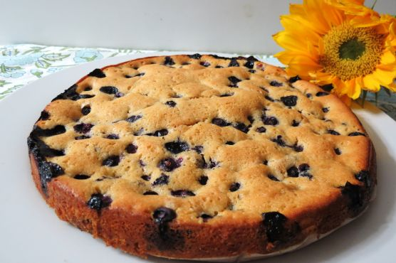 Blueberry Nutmeg Cake