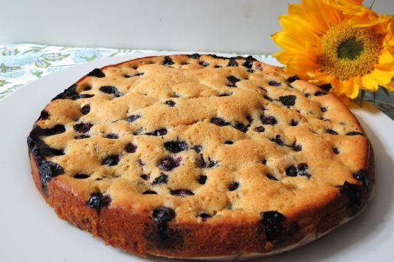 Слоеный пирог с черникой рецепт с фото