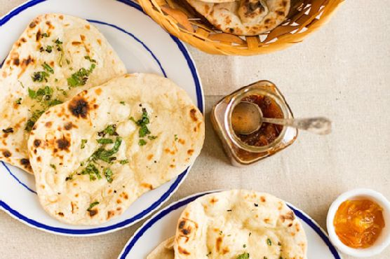 Homemade Naan with Malai Kofta