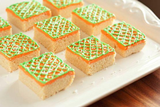 Easter Sugar Cookie Squares