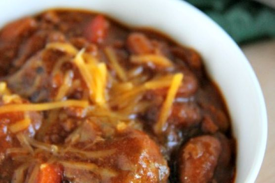 Thick and Chunky Chili with Sirloin
