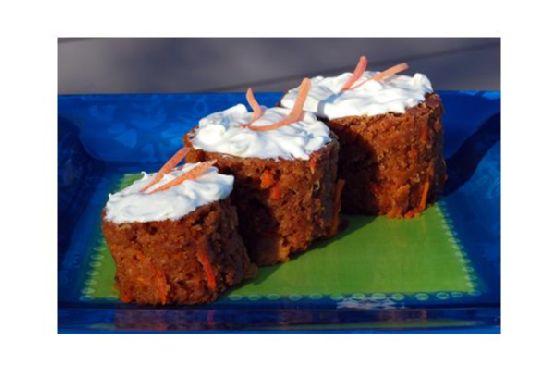 Pineapple Carrot Raisin Spice Cake