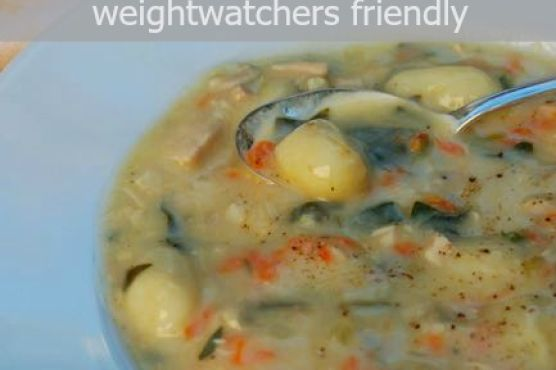 olive garden chicken gnocchi soup made lighter - Olive Garden Gnocchi Soup