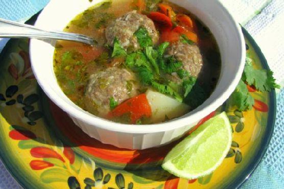 Albondigas (Meatball Soup)