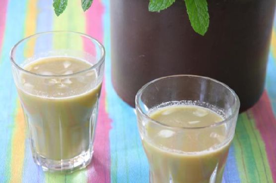Almond Mint Drink