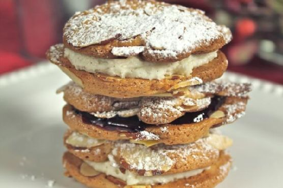 Almond Sandwich Cookies