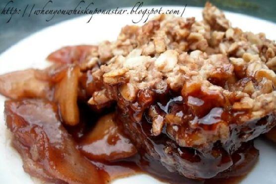 Apple- Pomegranate Crisp