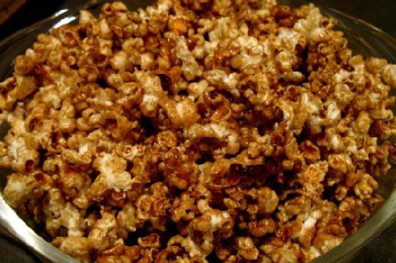 Apple-Infused Caramel Corn