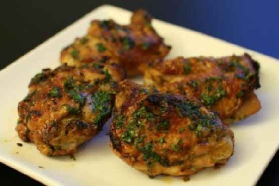 Asian Marinated Chicken Thighs