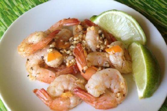Authentic Jamaican Pepper Shrimp