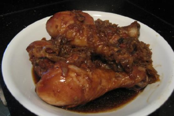 Baked Teriyaki Chicken Drumsticks