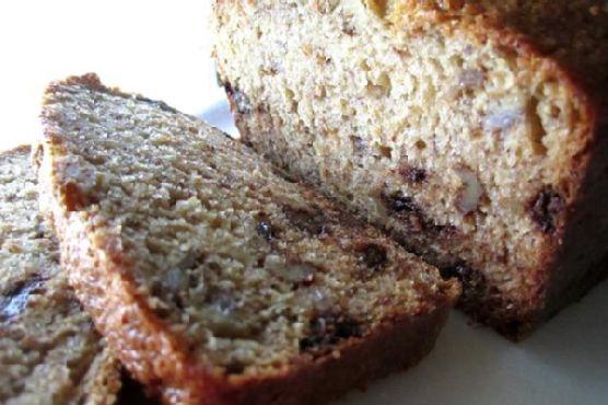 Banana- Honey Chocolate Chip Bread
