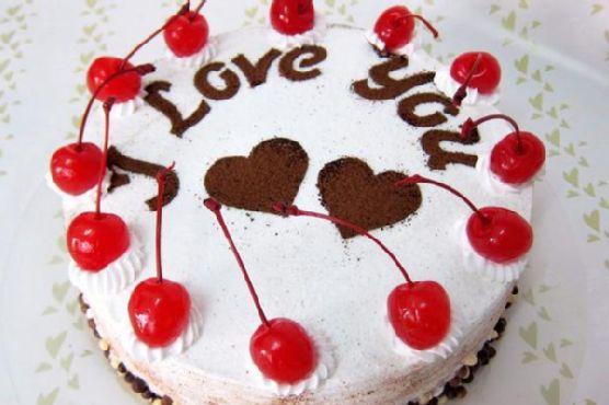 Black Forest Cake For Blogger Friends