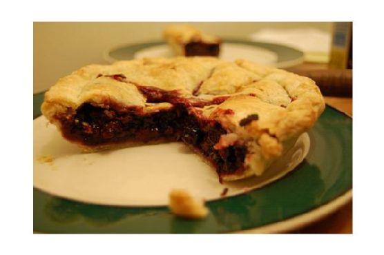 Blackberry Pie With Lemon Verbena Whip Cream
