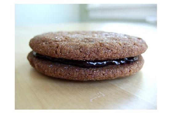 Blackberry Walnut Cookies