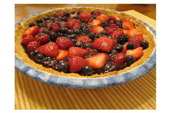 Blackberry-Raspberry Pie