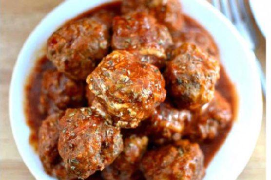 Bobby Flay's Meatball & Sauce