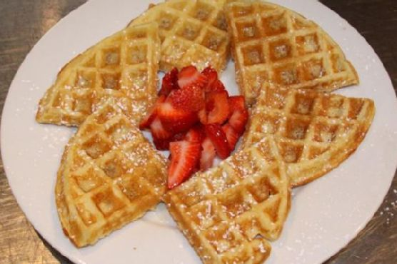 Breakfast: Waffles