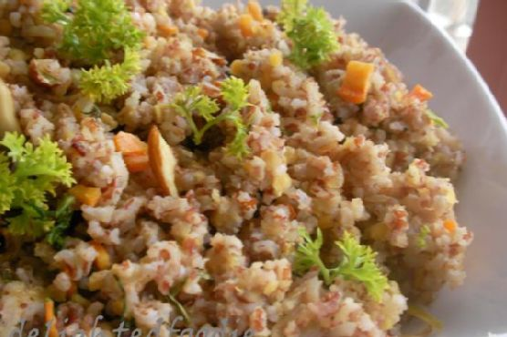 Brown Rice Vegetable Pulao
