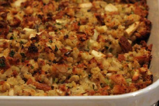Buttermilk Cornbread and Sage Stuffing