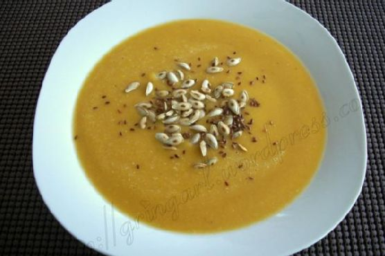 Butternut Squash and Tahini Soup