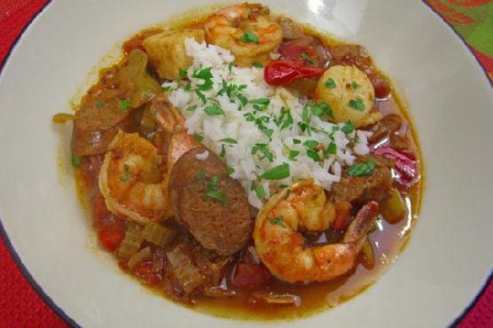 Cajun Seafood and Andouille Sausage Gumbo