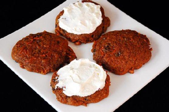 Carrot Raisin Chocolate Chip Cookies