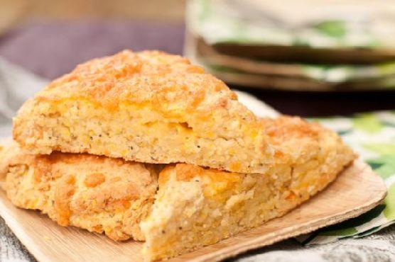 Cheesy Potato Corn Scones