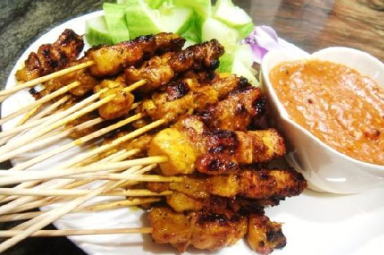 Chelley's Thai Style Chicken Satay