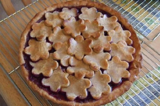 Cherry-Berry Pie With Agave Nectar All-Butter Crust