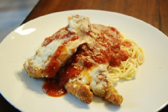 Chicken Parmesan With Pasta