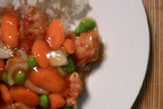 Korean Sweet n Sour Chicken