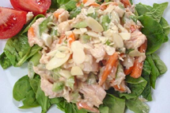 Chinese Chicken Salad With Creamy Soy Dressing