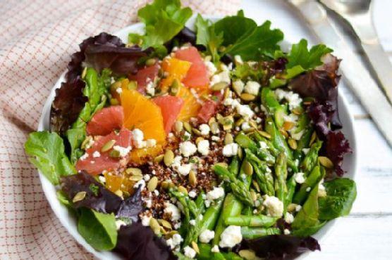 Citrus and Asparagus Salad