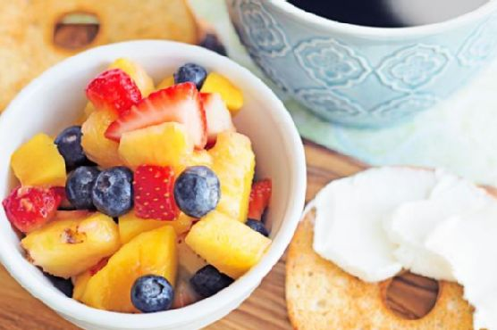 Classic Fruit Salad with Honey and Lemon