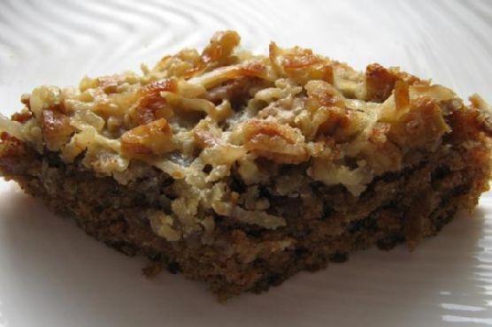 Coconut Pecan Oatmeal Cake