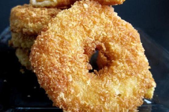 Crispy Pineapple Fritters
